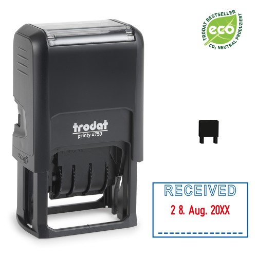 Trodat date stamp 4750/L - RECEIVED