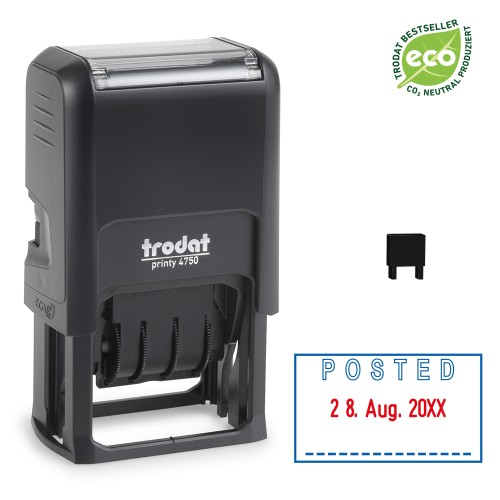 Trodat date stamp 4750/L - POSTED