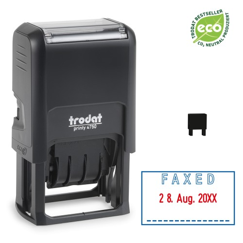 Trodat date stamp 4750/L - FAXED