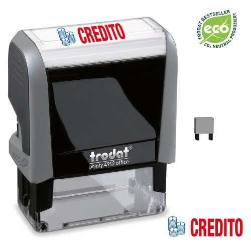 Trodat Office Printy 4912 'CREDITO'